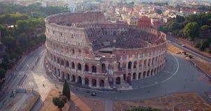 Colosseum在罗马 股票视频