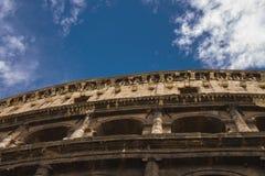 Colosseum的废墟在罗马,意大利 免版税库存图片