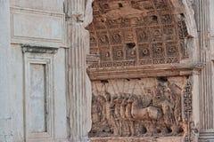 colosseum著名意大利多数安排罗马视图 详细资料 库存照片