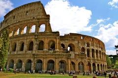 colosseum著名意大利多数安排罗马视图 免版税库存照片