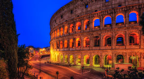 colosseum著名意大利多数安排罗马视图 库存照片