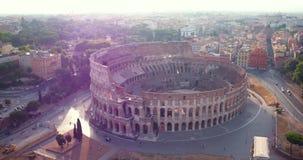 Colosseum à Rome banque de vidéos