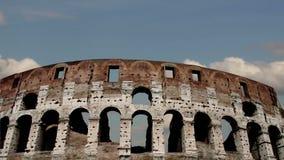 Colosseum à Rome, Italie Laps de temps banque de vidéos