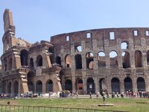 Colosseum – Rome. Picture of the magnificent colosseum in Rome, Italy Stock Photography