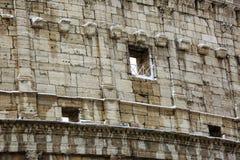 Colosseum και imperiali Fori, χιόνι στη Ρώμη Στοκ Εικόνα