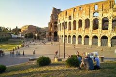colosseum Ρώμη Στοκ εικόνες με δικαίωμα ελεύθερης χρήσης