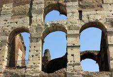 Colosseum στη Ρώμη, Ιταλία - κλείστε επάνω Στοκ εικόνα με δικαίωμα ελεύθερης χρήσης