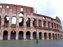 Colosseum στη Ρώμη Στοκ εικόνα με δικαίωμα ελεύθερης χρήσης