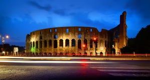 Colosseum στο ηλιοβασίλεμα Στοκ Φωτογραφίες
