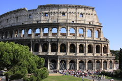 Colosseum της Ρώμης, Ιταλία Στοκ φωτογραφία με δικαίωμα ελεύθερης χρήσης