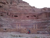 Colosseum της Petra Στοκ Εικόνες