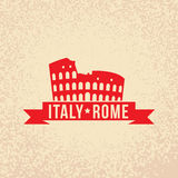 Colosseum - το σύμβολο της Ρώμης, Ιταλία Στοκ Εικόνες