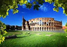 Colosseum в Риме, Италии Стоковые Изображения RF