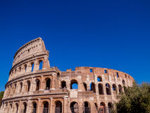 colosseum известная Италия большинств взгляд rome места Стоковые Фотографии RF