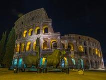colosseum известная Италия большинств взгляд rome места Стоковое Изображение