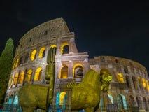 colosseum известная Италия большинств взгляд rome места Стоковое Изображение RF