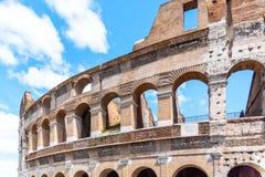 Colosseum, Колизей или амфитеатр Flavian, в Риме, Италия стоковые изображения rf