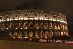 Colosseum к ноча стоковая фотография rf