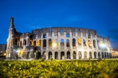 Colosseum на ноче Стоковое Изображение RF