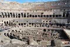 Colosseum Рима в Лацие в Италии стоковое изображение rf