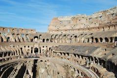 Colosseum Рима в Лацие в Италии стоковые изображения rf