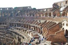Colosseum Рима в Лацие в Италии стоковые фотографии rf