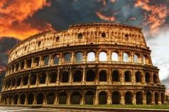 Colosseum, Рим Стоковое Изображение RF