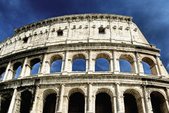 The Colosseum. At a stormy day, hdr picture Stock Image