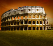 Colosseum. Colloseum building in dramatic light Royalty Free Stock Image