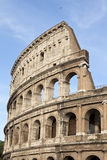 Colosseum. Part of the elliptical amphitheatre in the centre of Rome, the Colosseum, Italy, Southern Europe royalty free stock photo