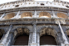 Colosseum. Colloseum (Coliseum)  is an amphitheater in the center of Rome, Italy Stock Photo