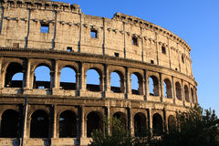 Colosseum. Colloseum (Coliseum)  is an amphitheater in the center of Rome, Italy Stock Photos
