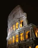 Colosseum. The famous Colosseum in Rome at night Royalty Free Stock Image