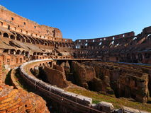 Colosseum. Interior in Rome, Italy Stock Images