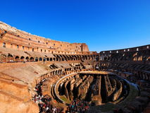 Colosseum. Interior, Rome, Italy, photo taken in February Stock Photo