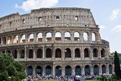 Colosseum. The Colosseum in Rome city Royalty Free Stock Photos