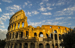 Colosseum. In the sky, rome Royalty Free Stock Images