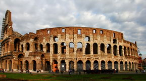 Colosseum. Roman Colosseum in Rome, Italy Royalty Free Stock Images