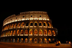 Colosseum. At night Royalty Free Stock Photos