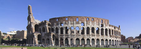 Colosseum. Different view of colosseum - rome royalty free stock photos