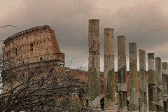 Colosseum Στοκ Φωτογραφία