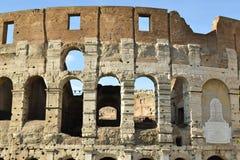 Colosseum Abschluss oben lizenzfreie stockfotografie