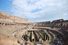 Colosseum adentro. fotografía de archivo libre de regalías