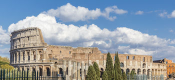 Colosseum against the blue sky. Travel Royalty Free Stock Images