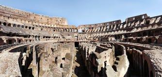 Colosseum als Flavian Amphitheater in Rome ook wordt geroepen dat Royalty-vrije Stock Foto