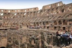Colosseum amfiteater, Rome, Italien Arkivbilder