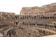 Colosseum amfiteater, Rome, Italien Fotografering för Bildbyråer