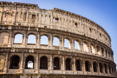 Colosseum amphitheater  in Rome Stock Photos