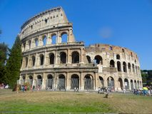 Colosseum. Amphitheater in Rome, Italy Stock Photo