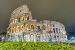 The Colosseum amphitheater in Rome, Italy Royalty Free Stock Photography